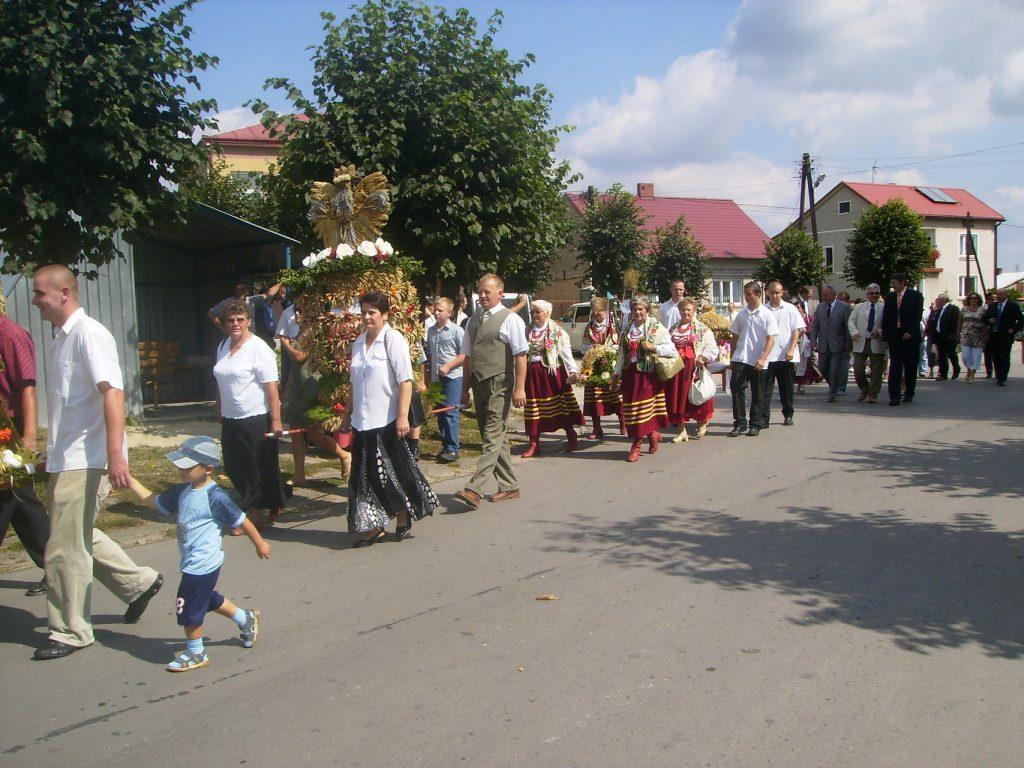 Dožinkové slávnosti v Ozarowe