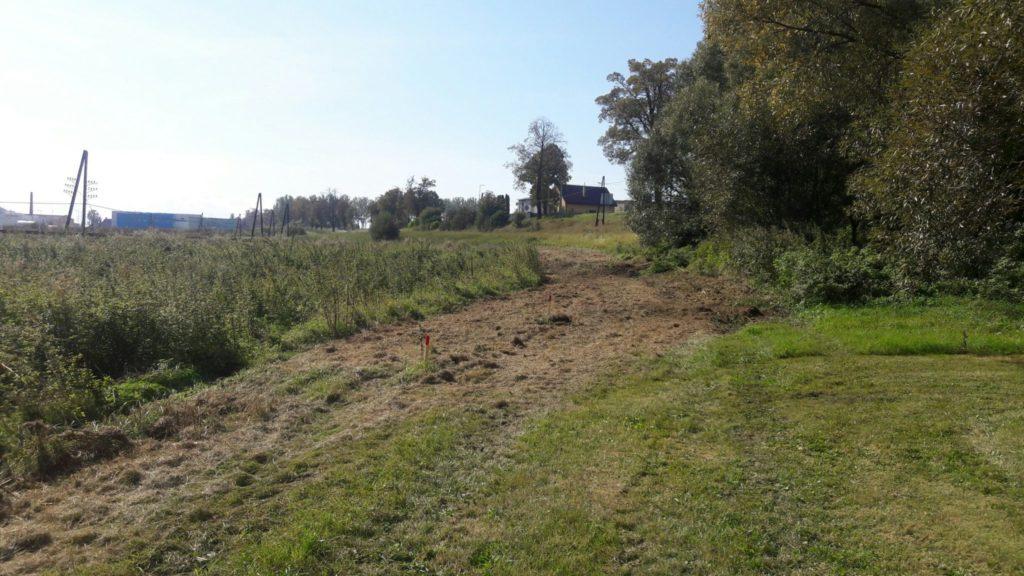 trasa pred výstavbou