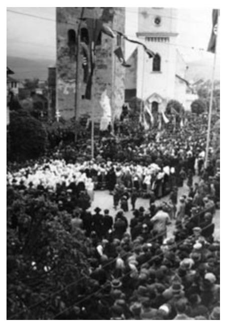 Odhalenie sochy 21. mája 1939