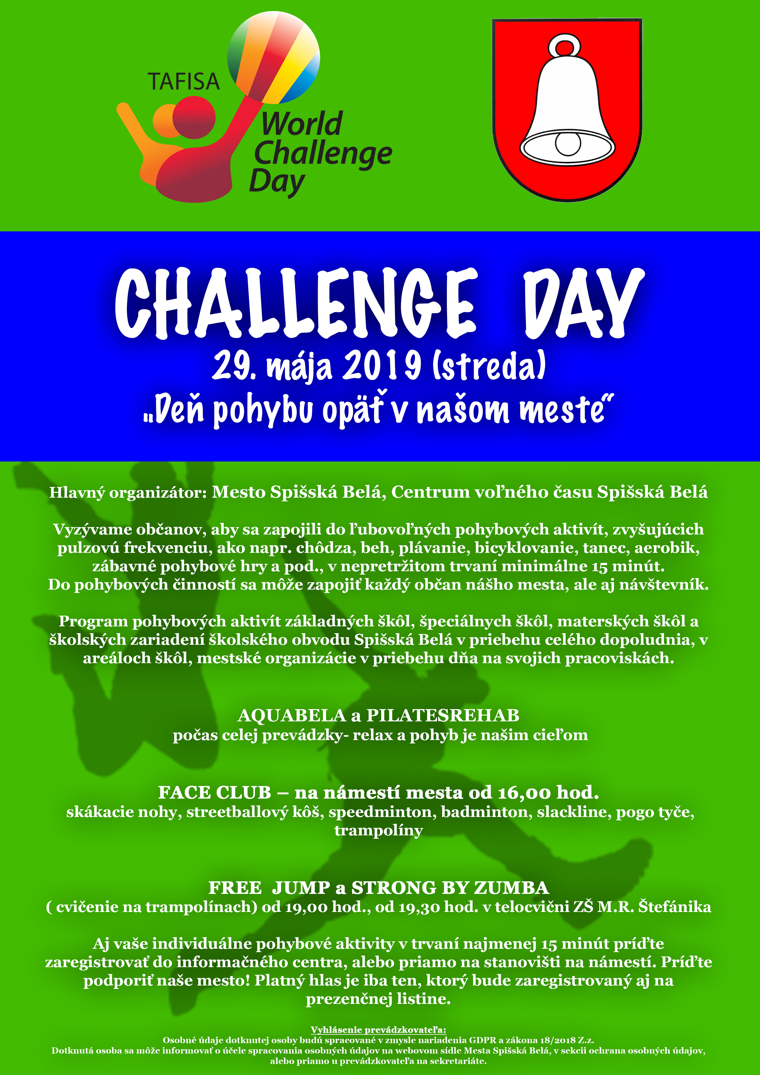 9e8126099 Challenge Day 2019 – Mesto Spišská Belá