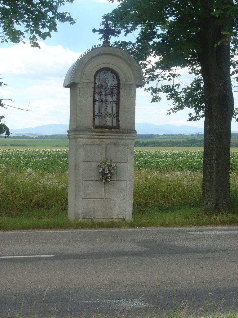 Nová kaplnka smerom na Tatranskú Kotlinu