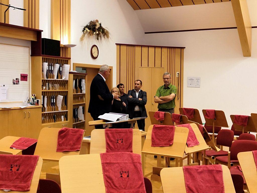 Koncertná sála v Základnej umeleckej škole v Biberbachu II.