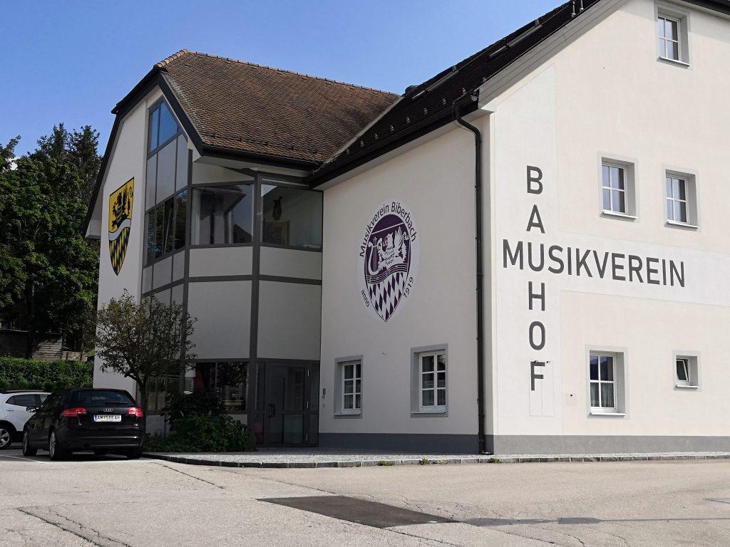 Základná umelecká škola v Bilberbachu.